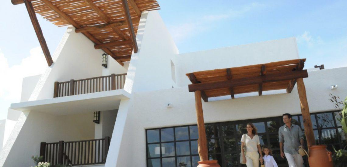 Club Med Cancun Yucatan, Mexique - Vue de l'espace extérieure de luxe avec une famille