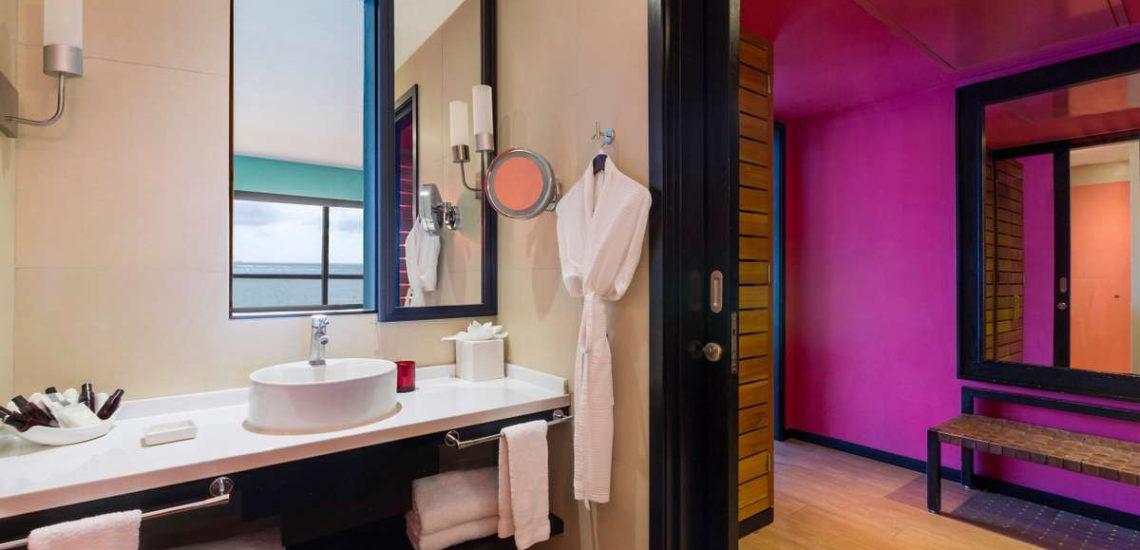 Club Med Cancun Yucatan, Mexique - Image de l'intérieur d'une salle de bain disponible en hébergement Deluxe