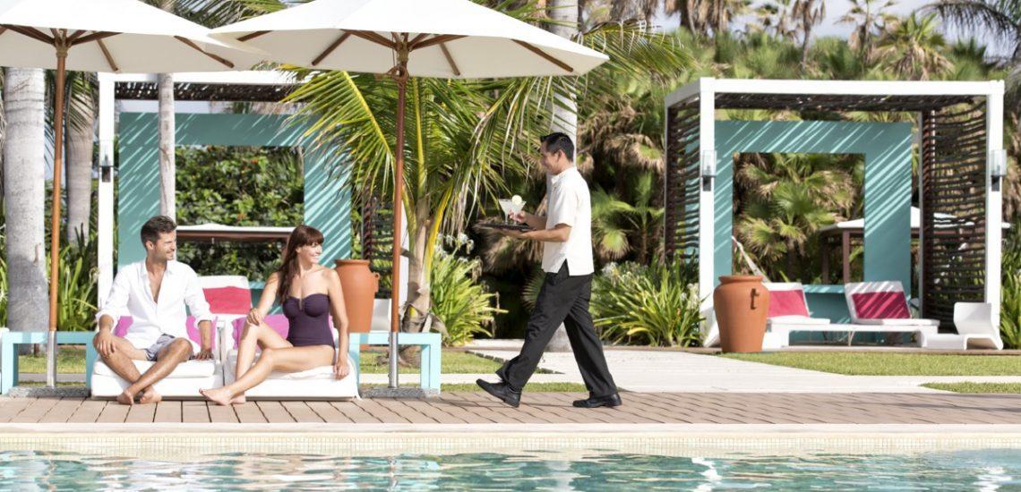 Club Med Cancun Yucatan, Mexique -  Piscine extérieure en journée