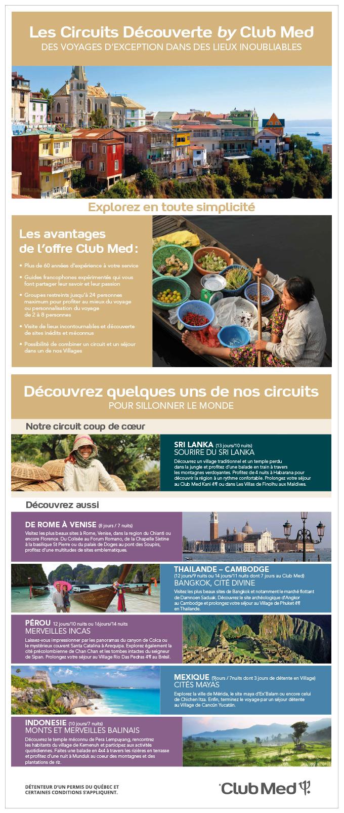 Club Med Circuits découvertes