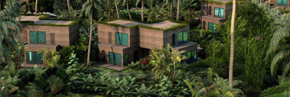 Club Med Miches Playa Esmeralda, en République Dominicaine - Vue du complexe l'Oasis Zen, en pleine forêt.