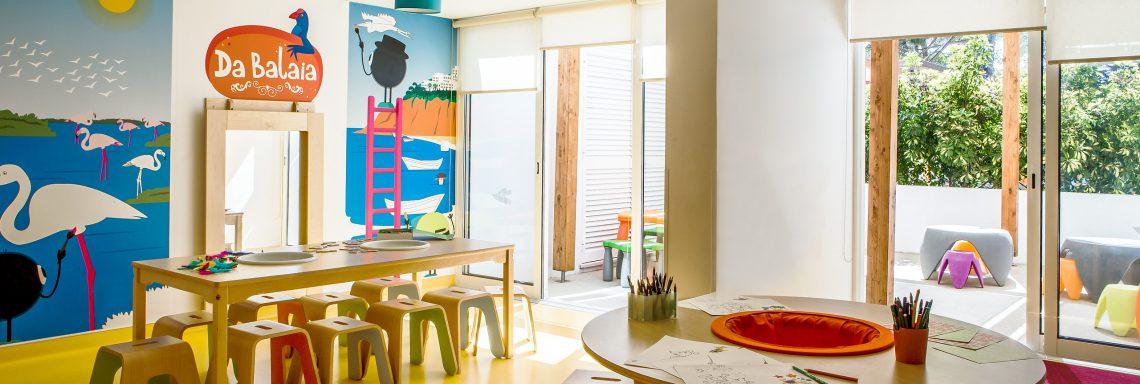 Club Med Portugal Da Balaia - Vue intérieure de la salle de jeu pour enfants