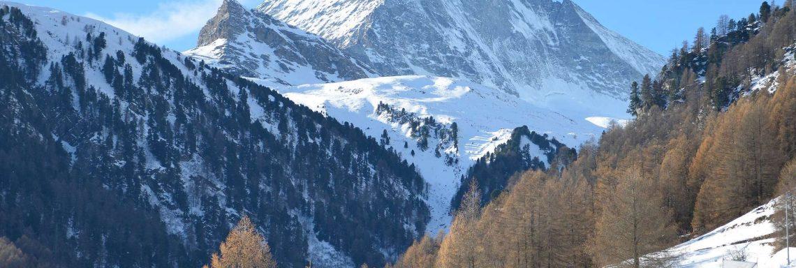 Club Med Cervinia, en Italie - La vallée montagneuse