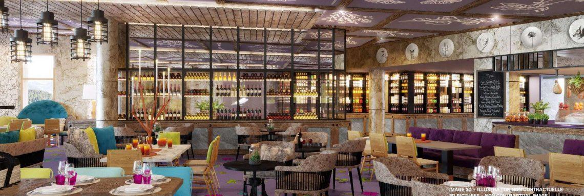 Club Med Alpes d'Huez en France - Bar et Lounge