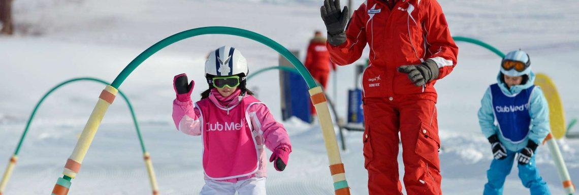 Club Med Alpes d'Huez en France - Ski pour enfant