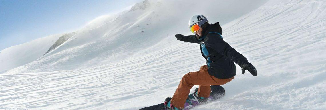 Club Med Alpes d'Huez en France - Planche à neige