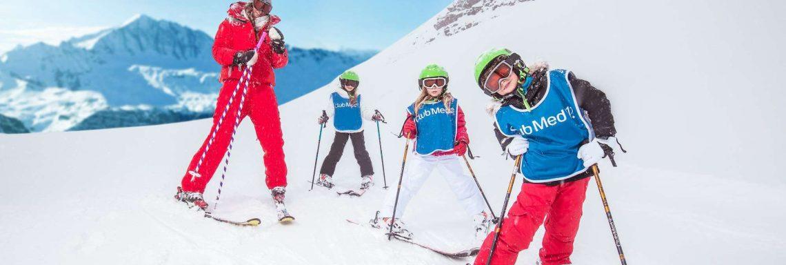 Club Med Saint-Moritz Roi Soleil, en Suisse -  Cours de ski alpin pour tous les âges