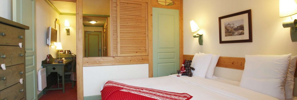 Club Med Serre-Chevalier, en France - Vue intérieure d'une chambre double