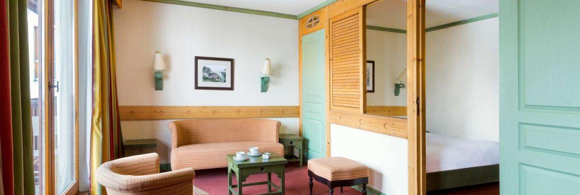 Club Med Serre-Chevalier, en France - Vue intérieure d'un salon authentique