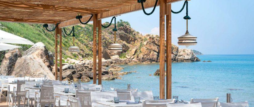 """Club Med Cefalù en Italie - Restaurant """" La Riva Beach  """" vue"""