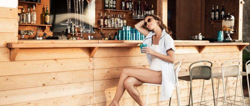 Club Med Cefalù en Italie - Façade du Bar à l'extérieur