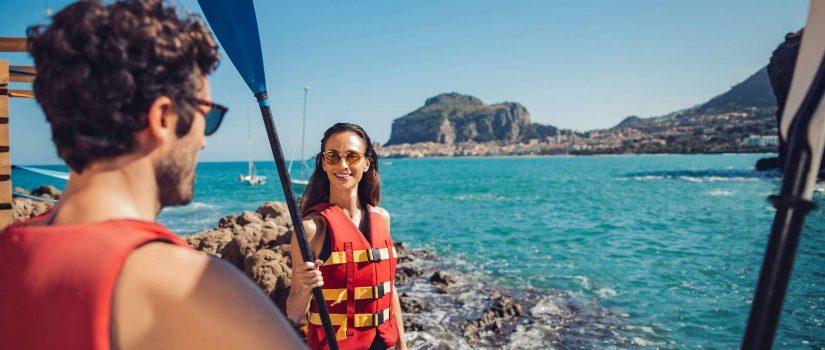Club Med Cefalù en Italie - Kayak en mer