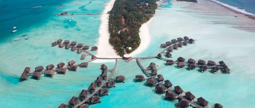 Club Med Kani, aux Maldives - vue aérienne du complexe Kani en entier