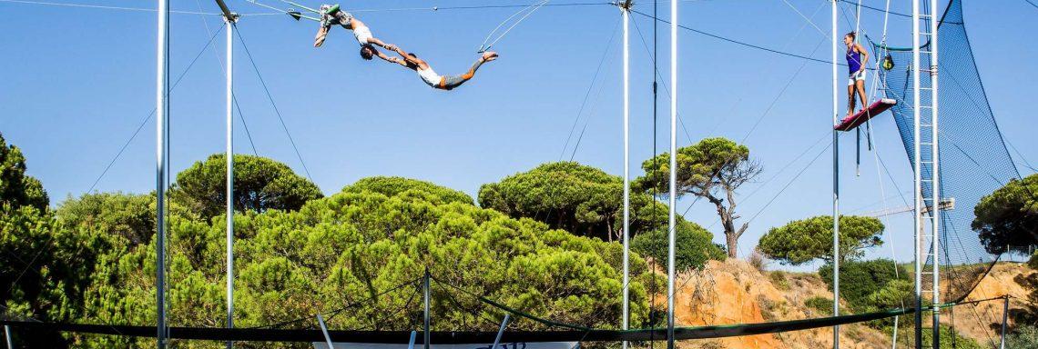 Club Med Magna Marbella - École de trapèze