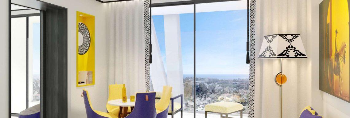 Club Med Magna Marbella - Suites avec salons et vue panoramique