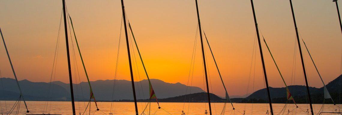 Club Med Gregolimano Grèce - Coucher de soleil
