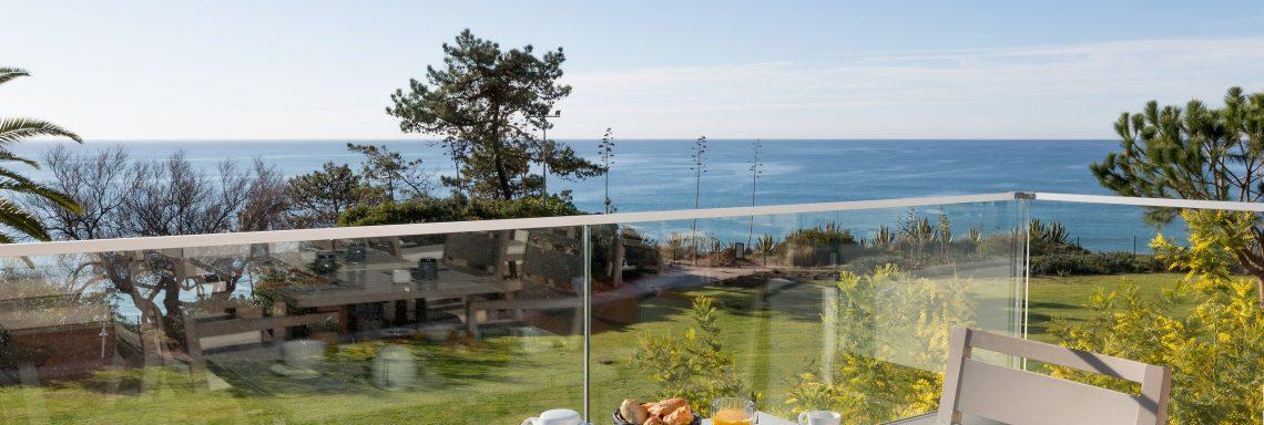 Club Med Portugal Da Balaia - Vue du balcon l'Océan avec petit déjeuner