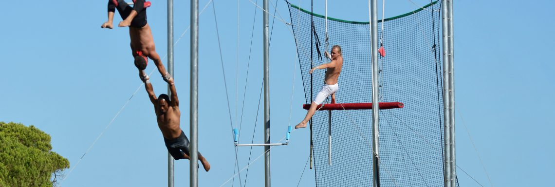 Club Med Portugal Da Balaia - Cours de trapèze en haute altitude
