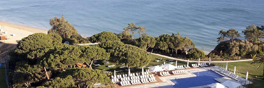 Club Med Portugal Da Balaia -  Vue aérienne hôtel et piscine