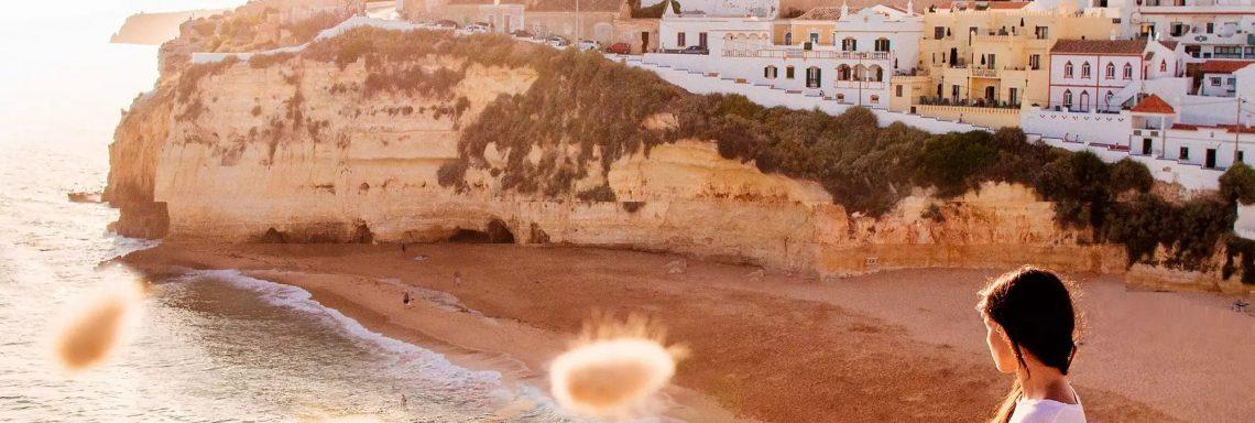 Club Med Portugal Da Balaia - Photo de l'hôtel sur le bord de la falaise