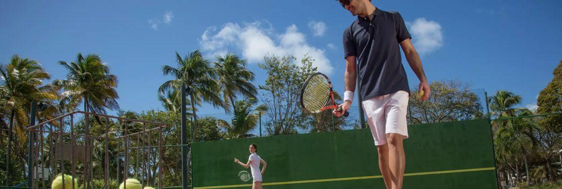 Club Med Portugal Da Balaia - Terrain de tennis en extérieur