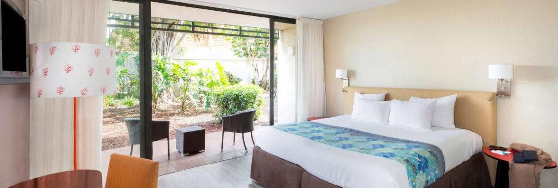 Club Med Sandpiper Bay, Floride- Vue d'ensemble d'une chambre Supérieureavec balcon aménagé