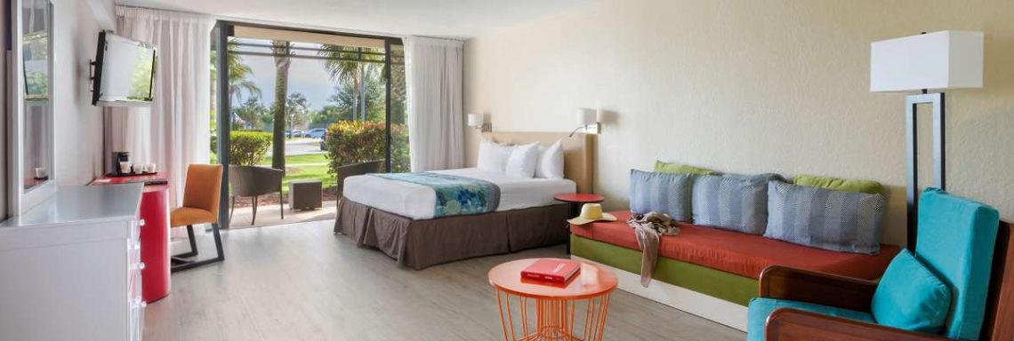 Club Med Sandpiper Bay, Floride- Image de l'hébergement offrant salon, terrasse et autres