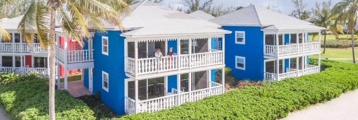 Club Med Columbus Isle, au Bahamas - Vue aérienne des bungalows disponibles en hébergement supérieur