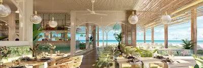 Club Med Miches Playa Esmeralda, en République Dominicaine - Image du restaurant Beach Lounge