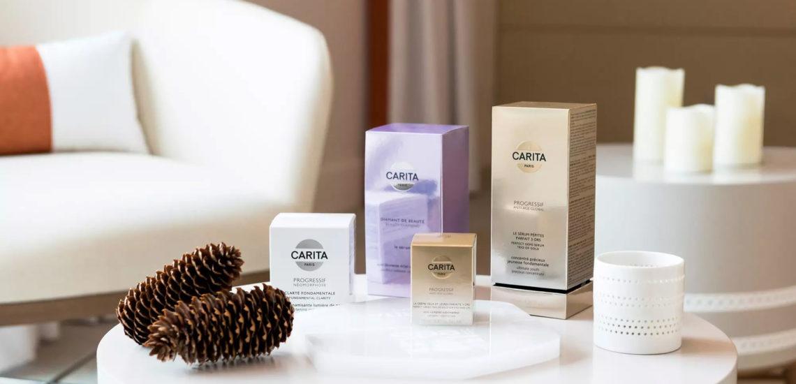 Club Med Samoëns, en France - Produits de beauté Carita offert lors d'un massage bien-être